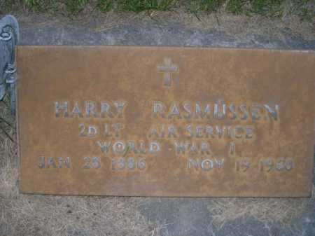 RASMUSSEN, HARRY - Dawes County, Nebraska   HARRY RASMUSSEN - Nebraska Gravestone Photos