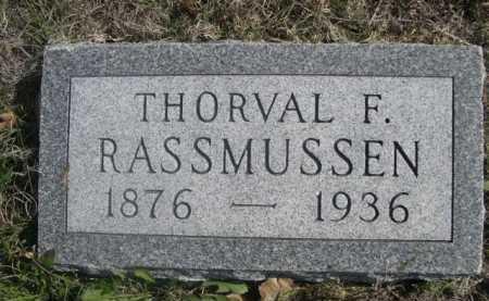 RASSMUSSEN, THORVAL F. - Dawes County, Nebraska | THORVAL F. RASSMUSSEN - Nebraska Gravestone Photos
