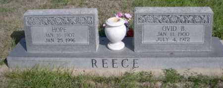 REECE, OVID B. - Dawes County, Nebraska | OVID B. REECE - Nebraska Gravestone Photos