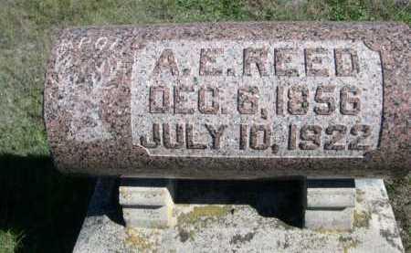 REED, A. E. - Dawes County, Nebraska   A. E. REED - Nebraska Gravestone Photos