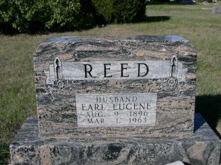 REED, EARL EUGENE - Dawes County, Nebraska   EARL EUGENE REED - Nebraska Gravestone Photos