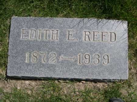 REED, EDITH E. - Dawes County, Nebraska   EDITH E. REED - Nebraska Gravestone Photos