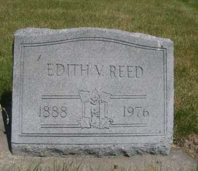REED, EDITH V. - Dawes County, Nebraska | EDITH V. REED - Nebraska Gravestone Photos