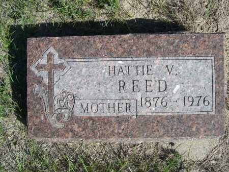 REED, HATTIE V. - Dawes County, Nebraska   HATTIE V. REED - Nebraska Gravestone Photos