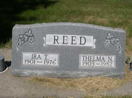 REED, IRA T. - Dawes County, Nebraska   IRA T. REED - Nebraska Gravestone Photos
