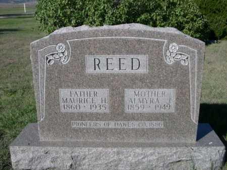 REED, ALMYRA J. - Dawes County, Nebraska   ALMYRA J. REED - Nebraska Gravestone Photos