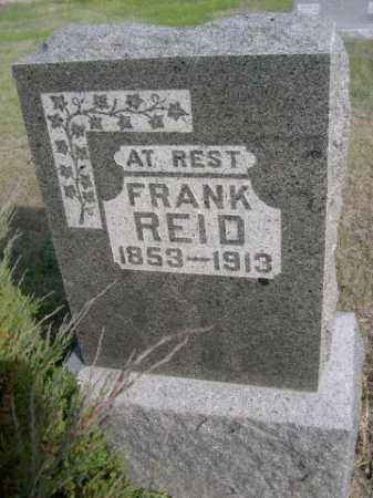 REID, FRANK - Dawes County, Nebraska   FRANK REID - Nebraska Gravestone Photos