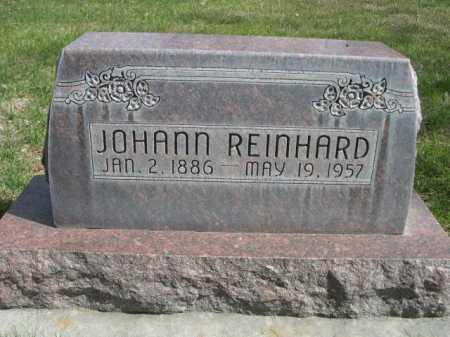REINHARD, JOHANN - Dawes County, Nebraska | JOHANN REINHARD - Nebraska Gravestone Photos