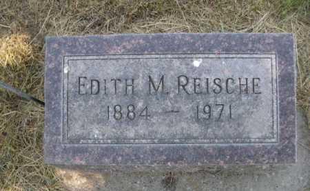 REISCHE, EDITH M. - Dawes County, Nebraska | EDITH M. REISCHE - Nebraska Gravestone Photos