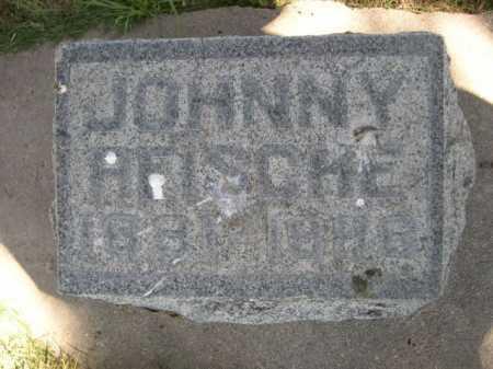 REISCHE, JOHNNY - Dawes County, Nebraska   JOHNNY REISCHE - Nebraska Gravestone Photos