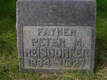 REISDORFER, PETER M. - Dawes County, Nebraska | PETER M. REISDORFER - Nebraska Gravestone Photos