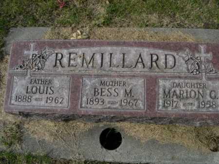 REMILLARD, LOUIS - Dawes County, Nebraska   LOUIS REMILLARD - Nebraska Gravestone Photos