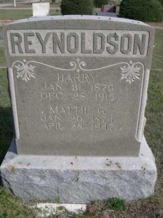 REYNOLDSON, MATTIE G. - Dawes County, Nebraska   MATTIE G. REYNOLDSON - Nebraska Gravestone Photos