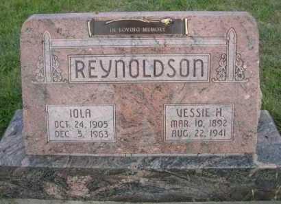 REYNOLDSON, VESSIE H. - Dawes County, Nebraska   VESSIE H. REYNOLDSON - Nebraska Gravestone Photos