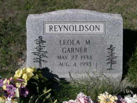 REYNOLDSON, LEOLA M. - Dawes County, Nebraska   LEOLA M. REYNOLDSON - Nebraska Gravestone Photos