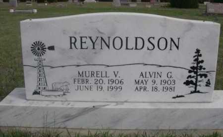 REYNOLDSON, MURELL V. - Dawes County, Nebraska   MURELL V. REYNOLDSON - Nebraska Gravestone Photos