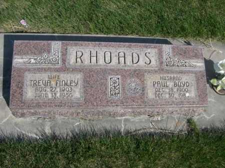 RHOADS, PAUL BOYD - Dawes County, Nebraska | PAUL BOYD RHOADS - Nebraska Gravestone Photos