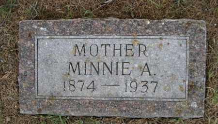 RIDDLE, MINNIE A. - Dawes County, Nebraska | MINNIE A. RIDDLE - Nebraska Gravestone Photos