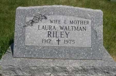 RILEY, LAURA - Dawes County, Nebraska   LAURA RILEY - Nebraska Gravestone Photos