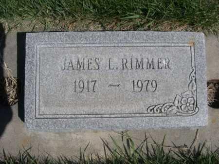 RIMMER, JAMES L. - Dawes County, Nebraska | JAMES L. RIMMER - Nebraska Gravestone Photos