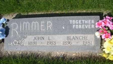 RIMMER, JOHN L. - Dawes County, Nebraska | JOHN L. RIMMER - Nebraska Gravestone Photos