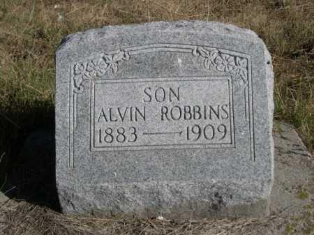 ROBBINS, ALVIN - Dawes County, Nebraska | ALVIN ROBBINS - Nebraska Gravestone Photos