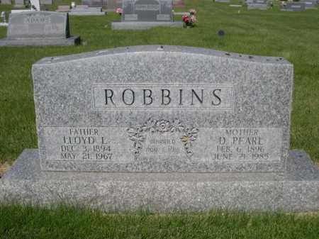 ROBBINS, D. PEARL - Dawes County, Nebraska | D. PEARL ROBBINS - Nebraska Gravestone Photos