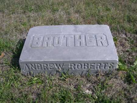 ROBERTS, ANDREW - Dawes County, Nebraska | ANDREW ROBERTS - Nebraska Gravestone Photos