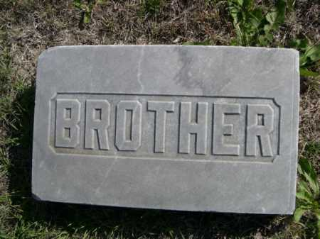 ROBERTS, BROTHER - Dawes County, Nebraska | BROTHER ROBERTS - Nebraska Gravestone Photos