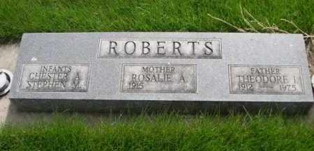 ROBERTS, ROSALIE A. - Dawes County, Nebraska | ROSALIE A. ROBERTS - Nebraska Gravestone Photos