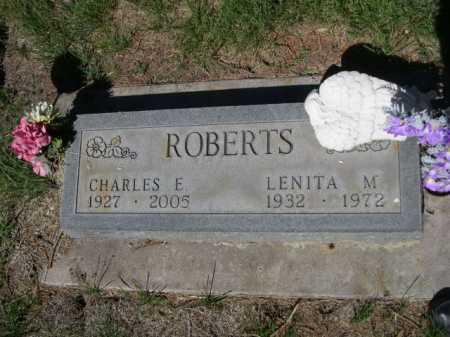 ROBERTS, LENITA M. - Dawes County, Nebraska | LENITA M. ROBERTS - Nebraska Gravestone Photos
