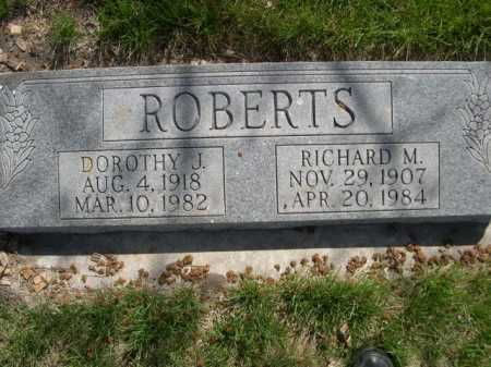 ROBERTS, RICHARD M. - Dawes County, Nebraska | RICHARD M. ROBERTS - Nebraska Gravestone Photos
