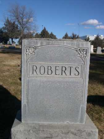 ROBERTS, FAMILY - Dawes County, Nebraska | FAMILY ROBERTS - Nebraska Gravestone Photos
