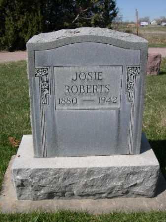 ROBERTS, JOSIE - Dawes County, Nebraska | JOSIE ROBERTS - Nebraska Gravestone Photos