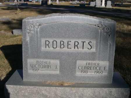 ROBERTS, CLARENCE E. - Dawes County, Nebraska | CLARENCE E. ROBERTS - Nebraska Gravestone Photos