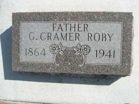 ROBY, G. CRAMER - Dawes County, Nebraska | G. CRAMER ROBY - Nebraska Gravestone Photos