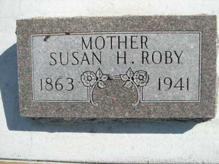 ROBY, SUSAN H. - Dawes County, Nebraska   SUSAN H. ROBY - Nebraska Gravestone Photos