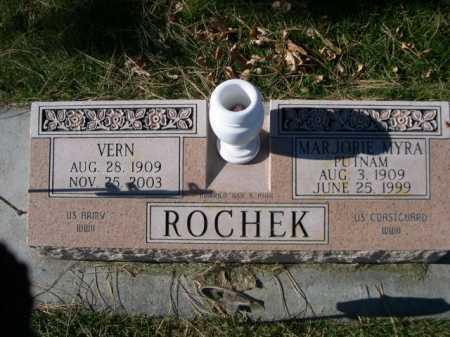 PUTNAM ROCHEK, MARJORIE MYRA - Dawes County, Nebraska   MARJORIE MYRA PUTNAM ROCHEK - Nebraska Gravestone Photos