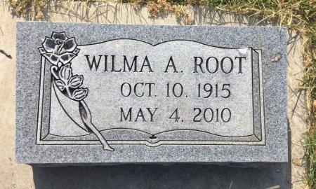 ROOT, WILMA A - Dawes County, Nebraska   WILMA A ROOT - Nebraska Gravestone Photos