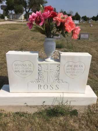 ROSS, DONNA M. - Dawes County, Nebraska | DONNA M. ROSS - Nebraska Gravestone Photos