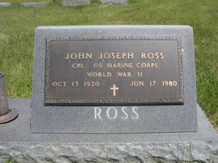 ROSS, JOHN JOSEPH - Dawes County, Nebraska   JOHN JOSEPH ROSS - Nebraska Gravestone Photos