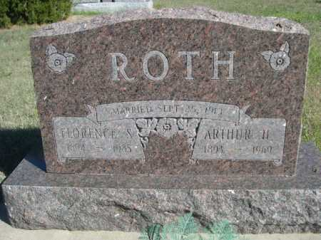 ROTH, FLORENCE S. - Dawes County, Nebraska   FLORENCE S. ROTH - Nebraska Gravestone Photos