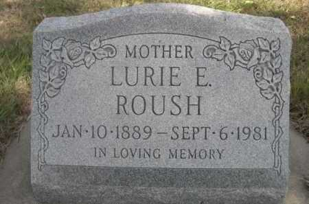 ROUSH, LURIE E. - Dawes County, Nebraska | LURIE E. ROUSH - Nebraska Gravestone Photos