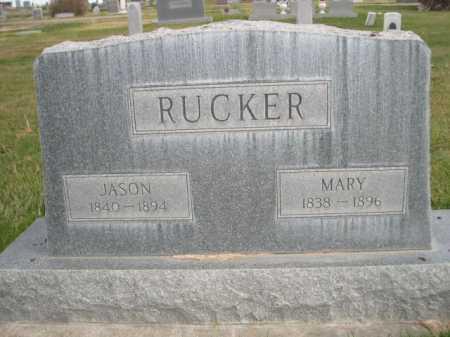RUCKER, JASON - Dawes County, Nebraska | JASON RUCKER - Nebraska Gravestone Photos