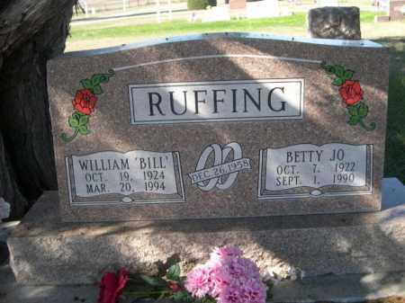 RUFFING, BETTY JO - Dawes County, Nebraska   BETTY JO RUFFING - Nebraska Gravestone Photos