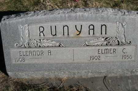 RUNYAN, ELMER C. - Dawes County, Nebraska | ELMER C. RUNYAN - Nebraska Gravestone Photos