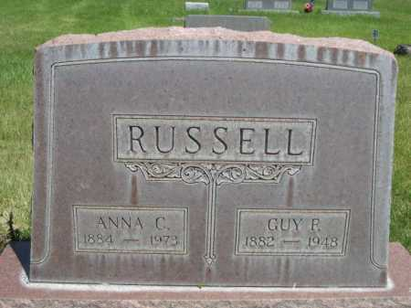 RUSSELL, GUY P. - Dawes County, Nebraska | GUY P. RUSSELL - Nebraska Gravestone Photos
