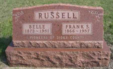 RUSSELL, BELLE - Dawes County, Nebraska | BELLE RUSSELL - Nebraska Gravestone Photos