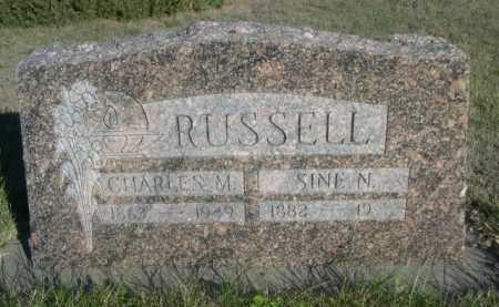 RUSSELL, CHARLES M. - Dawes County, Nebraska | CHARLES M. RUSSELL - Nebraska Gravestone Photos