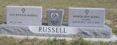 RUSSELL, JAN EKRISTIN - Dawes County, Nebraska | JAN EKRISTIN RUSSELL - Nebraska Gravestone Photos